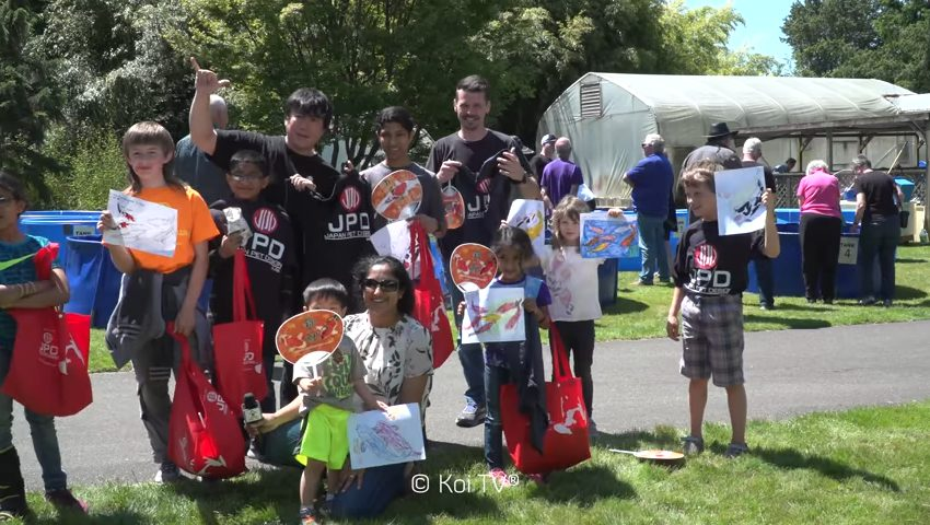 2018 Nozomi Koi Show Kids Judging and Painting Competition